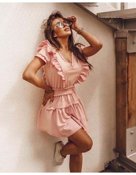 Sukienka SUMMER FRILLS - O'la Voga