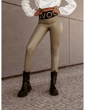 Spodnie Black Leather - O'la Voga