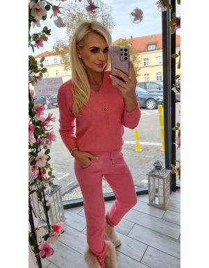 Komplet dzianinowy TOUCH PINK