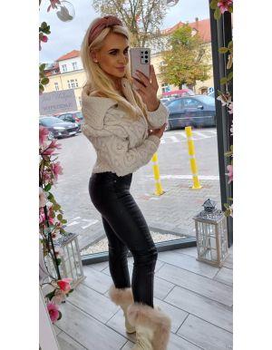 Sweter pleciony ELISA