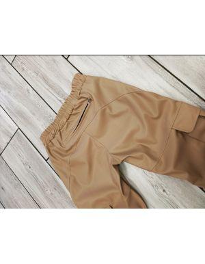 Spodnie skórzane Cargo - By o la la..!